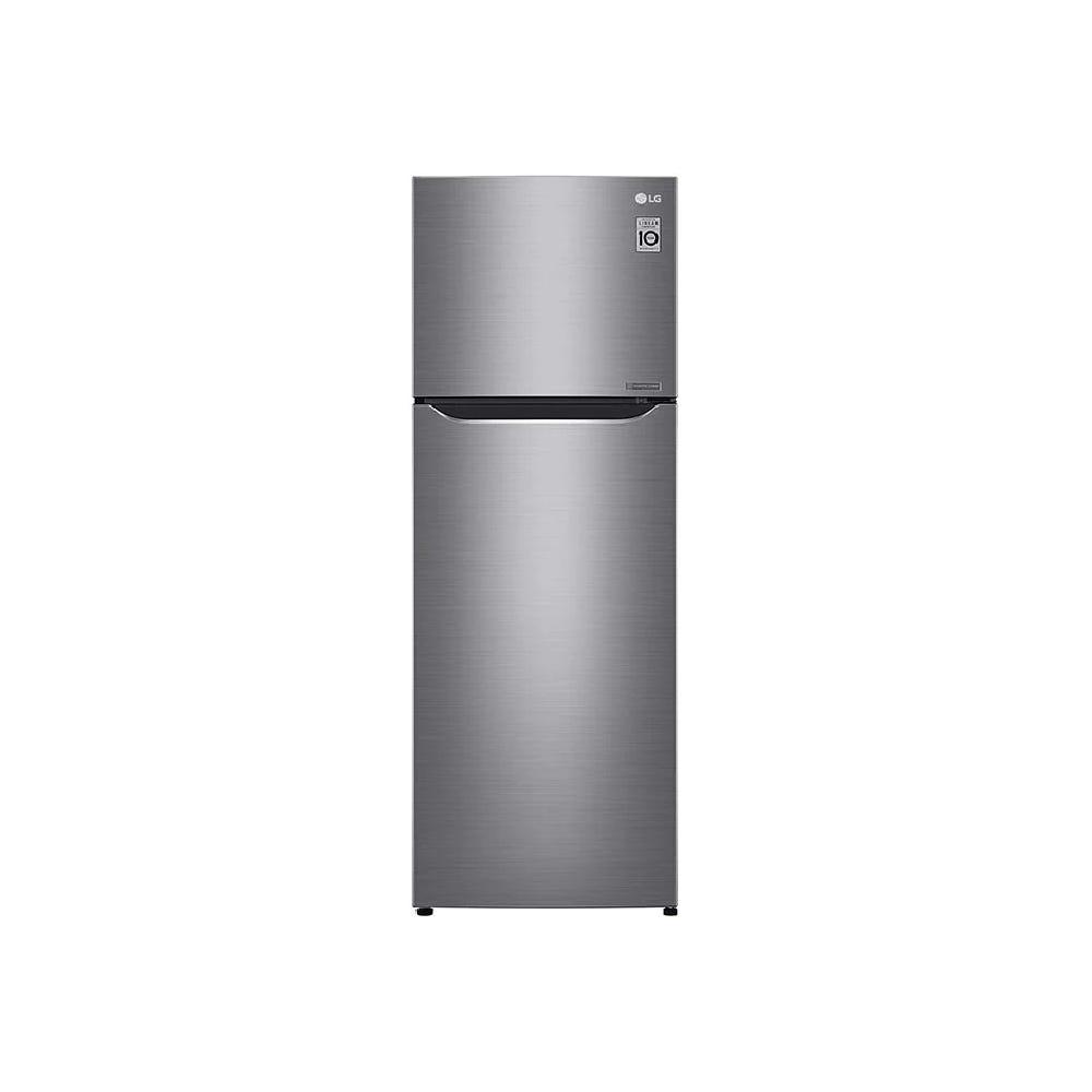 LG Nett 254L Top Freezer with Multi Air Flow & Smart Inverter Compressor, Dark Graphite Steel GNG272SLCB