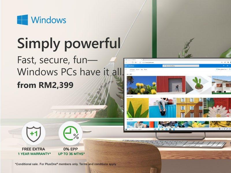 Windows Simply Powerful