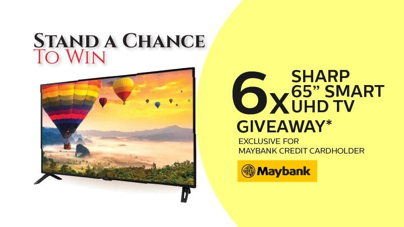 Stand a Chance to win SHARP TV