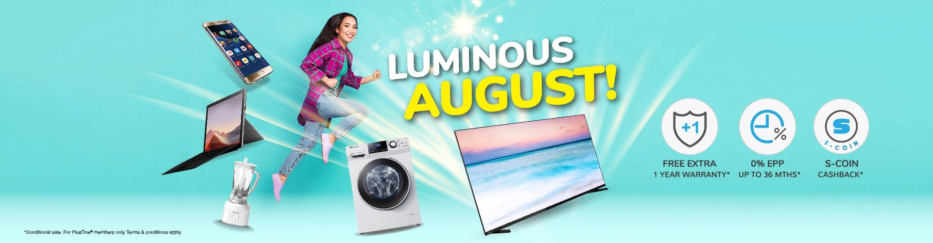 Monthly Promotion | August