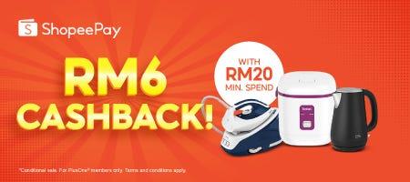 Shopee Pay   RM6 Cashback
