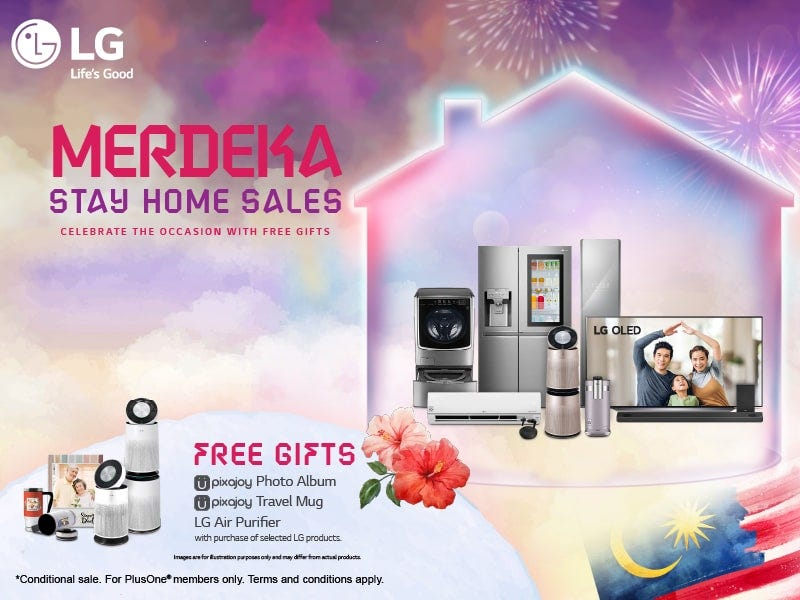 LG Merdeka Stay Home Sales