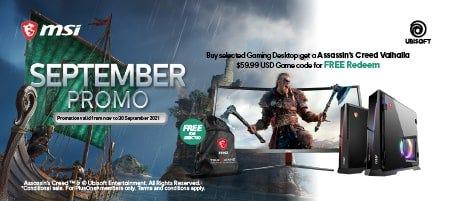 MSI September Promo