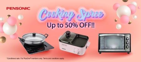 Pensonic Cooking Spree