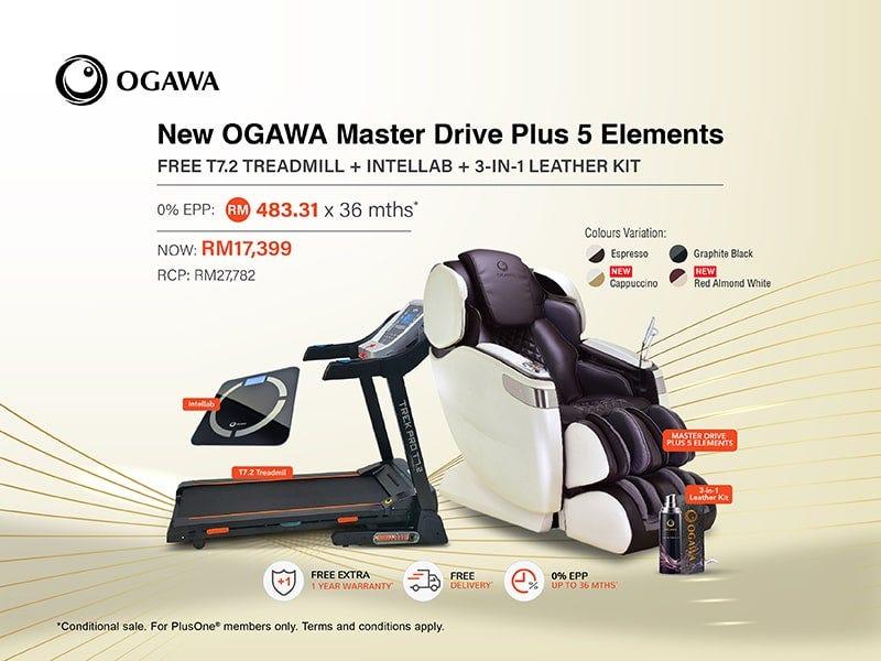 Ogawa Master Drive Plus 5 Elements