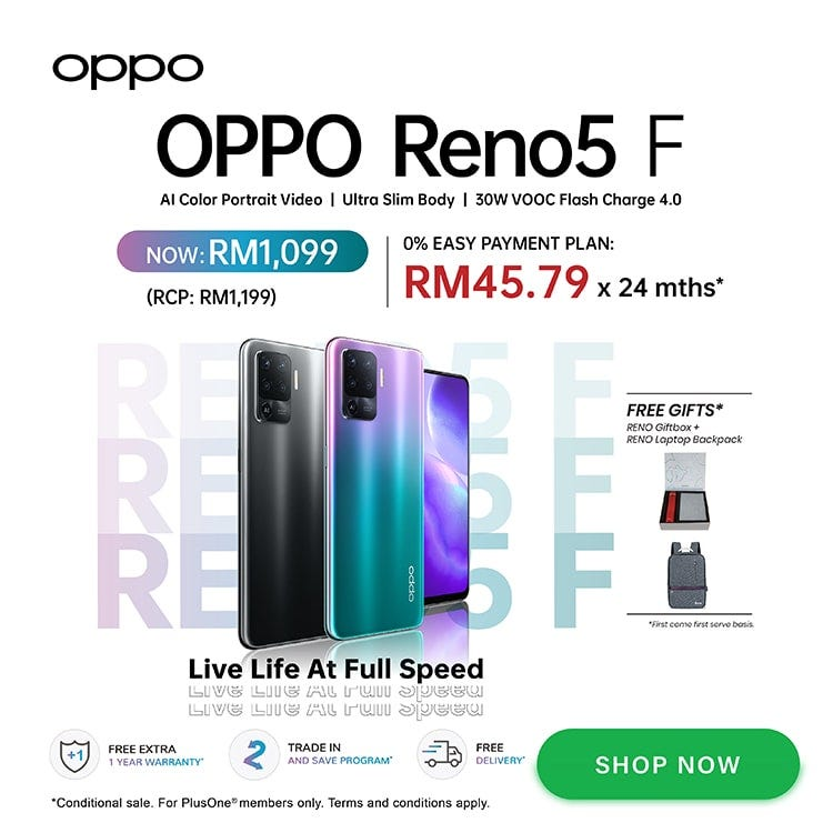 OPPO Reno 5 F