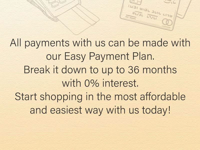 Other Easy Payment Plan